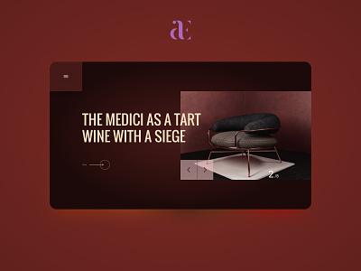 New concept landing design branding typography minimal design website web ux ui
