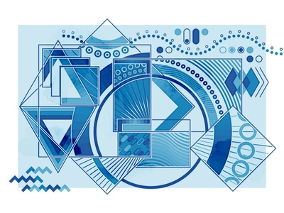 Abstract composition #1 vector composition abstract design design illustration graphic design