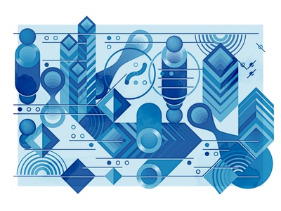 Abstract composition #3 portada abstract composition graphics illustration vector design graphic design