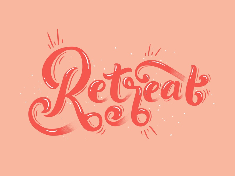 Local is Lekker: Retreat, Cape Town flat illustration calligraphy flat hand drawn illustration typography vector quote cape town cape flats local is lekker southafrica city typography