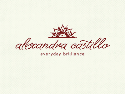 Alex Castillo Photographer Logo henna sun logo photographer