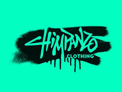 Chimpanzo typography typo branding brand calligraphy handlettering logotype logo street chimp