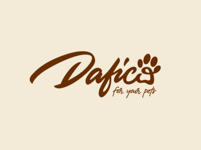 ... for your pet dog pets pet paw corporate identity logo design mark typo branding typography calligraphy handlettering graphic design brand logotype logo