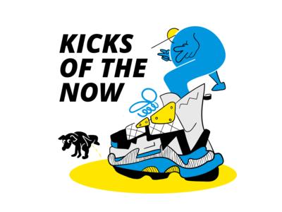Kicks of the now