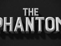 Vintage film title tect effect