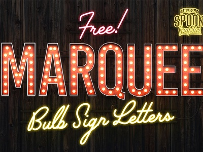 Free Marquee Bulb Sign Letters bulb letters marquee sign letters bulb sign marquee free