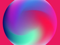 Colorful Gradiet Orb