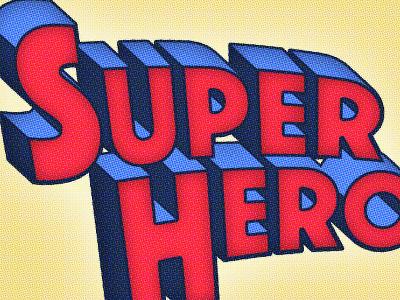 Superhero Text Effect tutorial photoshop comic text effect superhero