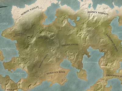 Fantasy Map tutorial fantasy map fantasy tutorial map photoshop