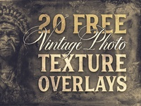 Free Vintage Photo Texture Overlays