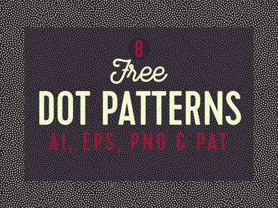 Free Seamless Dot Patterns