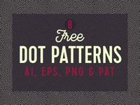 Free Seamless Dot Patterns