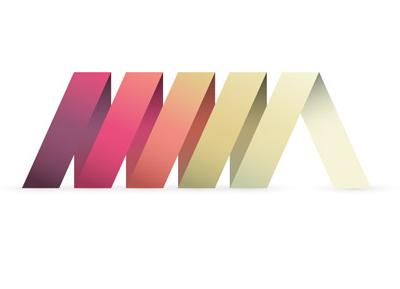 Ribbon style logo graphic logo