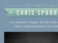 Simple Portfolio Design