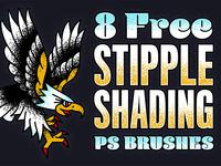 Stipple Shading PS Brushes