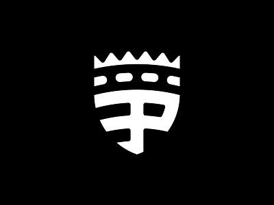 Padergnone Football Club - Negative brand brand design branding club design football icon identity illustration logo logo design mark negative scudetto soccer sport vector