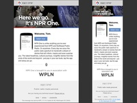 NPR One Newsletter Campaign