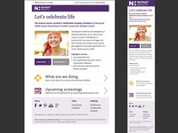 Novant Health Newsletter Campaign