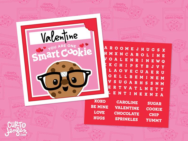 Smart Cookie Valentine's