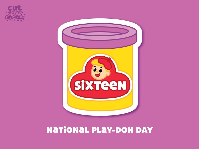 September 16 - National Play-Doh Day celebrations september toys toy clay play dough playdoh play-doh
