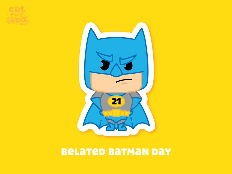 September 21 - Belated Batman Day bat september superheroes superhero comic book adam west batman day batman