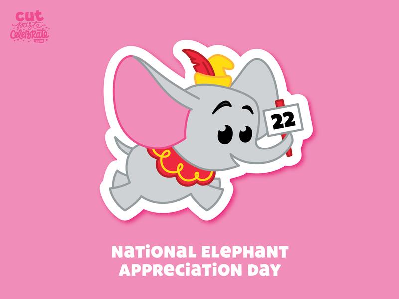September 22 - National Elephant Appreciation Day dumbbell elephant appreciation day elephant disneyland disney fanart fan art dumbo fan art dumbo fan art dumbo