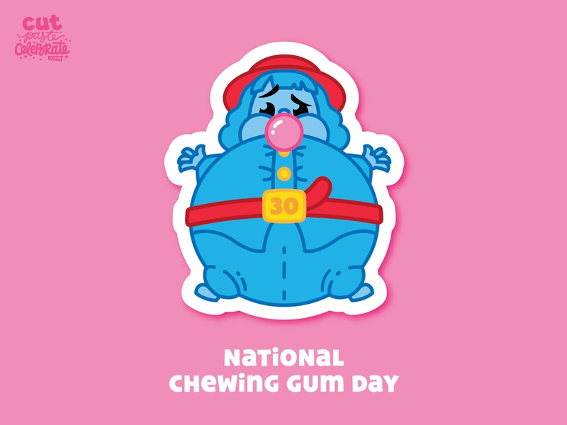 September 30 - National Chewing Gum Day violet beauregarde gum chewing gum willy wonka