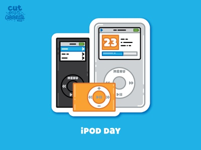 October 23 - iPod Day daily celebrations digital music mp3 player ipod ipod day ipod day