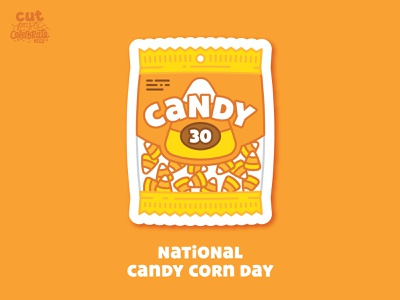 October 30 - National Candy Corn Day candy cane celebrate every day how to celebrate harvest halloween candy candy corn