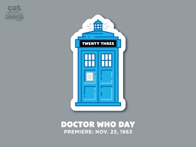 November 23 - Doctor Who Day doctor bbc sci-fi scifi police box whovian tardis doctor who