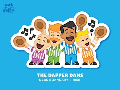 The Dapper Dans barbershop quartet music main street u.s.a. main street u.s.a. main street disney world disneyland disney dapper dans barbershop quartet barbershop quartet