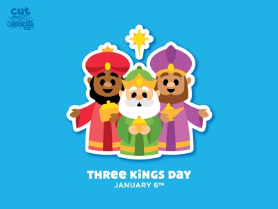 Three Kings Day - January 6 12 days of christmas celebrate every day star christmas three wise men wise men 3 wise men nativity