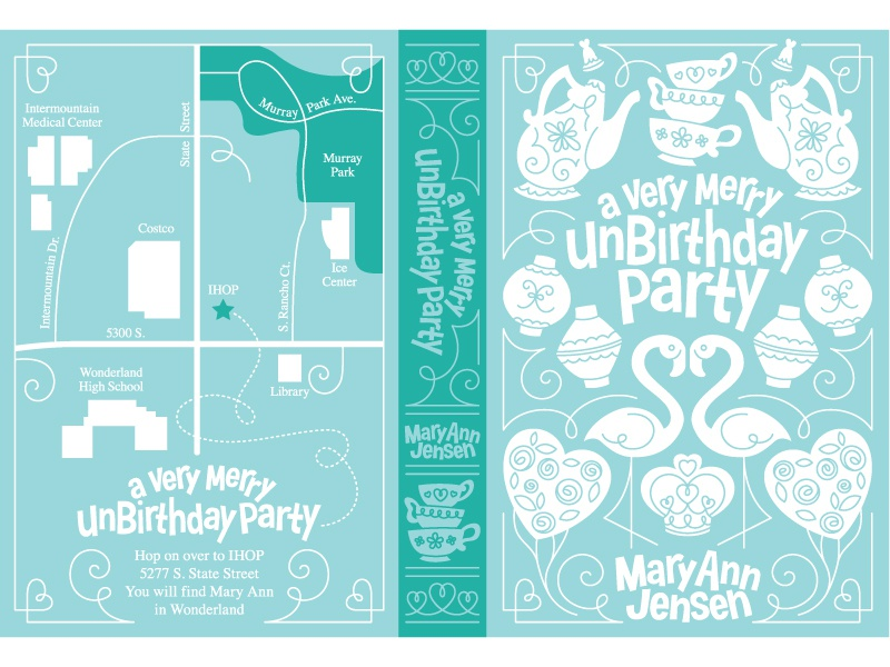 A Very Merry Unbirthday Party By Curt R Jensen Dribbble Dribbble