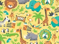 Zoo Day Paper Pattern