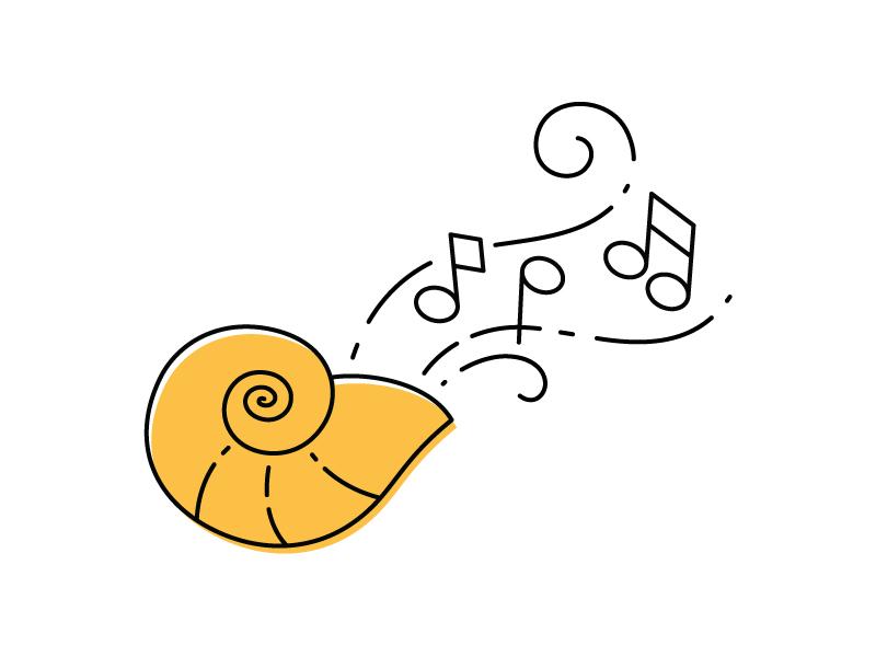 The Voice of the Little Mermaid fan art disney fan art music seashell disney princess disney comic con ariel the little mermaid