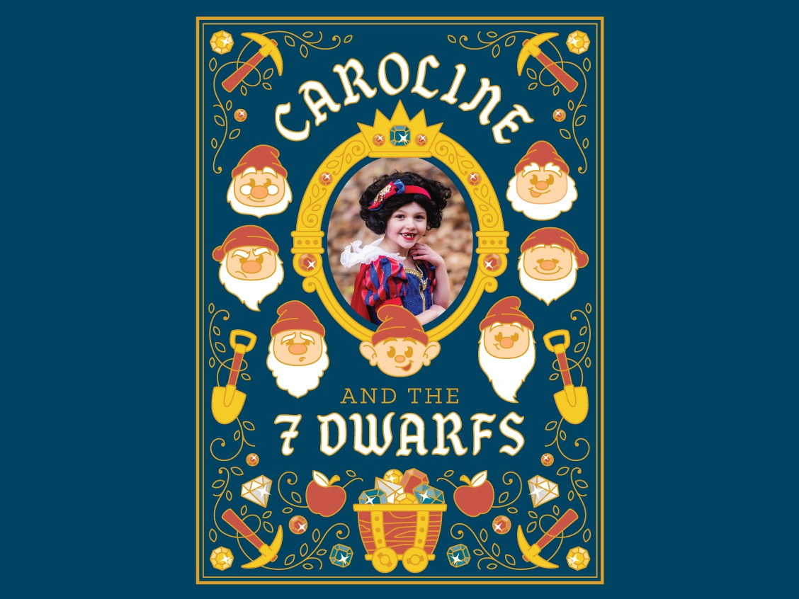 Snow White Birthday Party Invitation By Curt R Jensen On