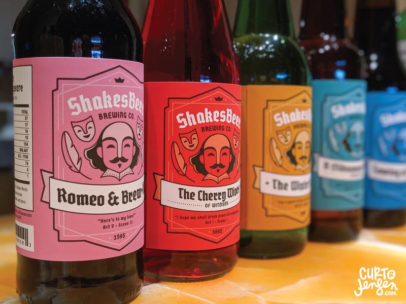 DIY ShakesBeer Brewing Co. Labels