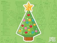 Christmas Tree Gift Card Holder