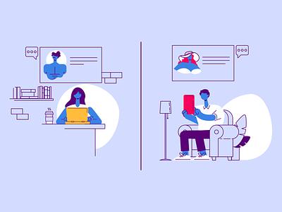 Besedo Online Dating online dating dating infographic explainer video illustration animation