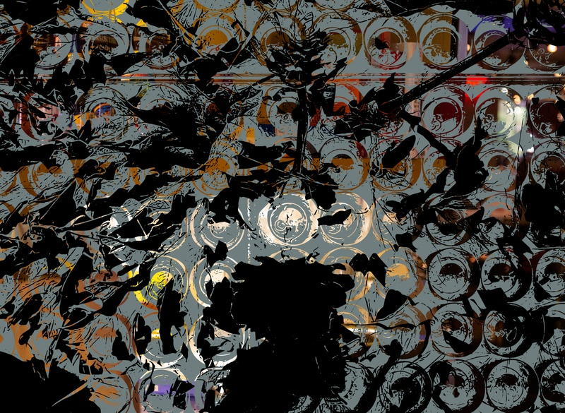 Light with Dark gray black vector art vector