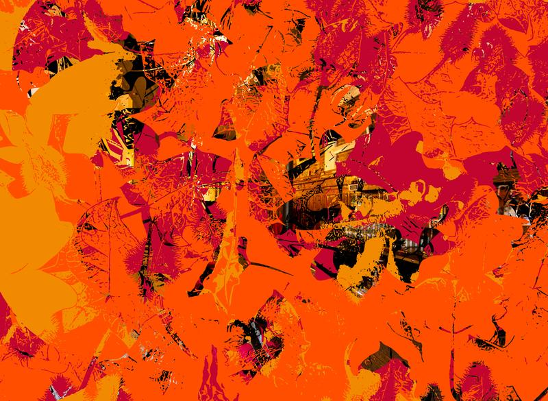 Going to the Light red orange yellow vector art vector