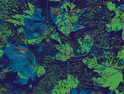 Big Nature green blue nature vector art vector