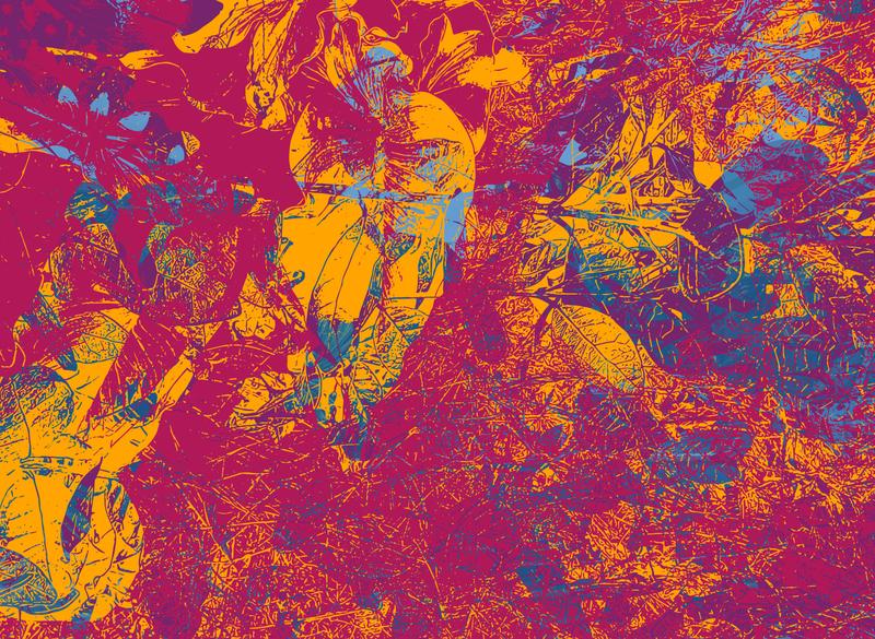 Forced Lightness purple red yellow vector art vector