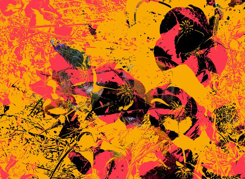 Flowers Bring the Light pink yellow vector art vector