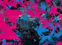 What Country? pink blue vector art vector