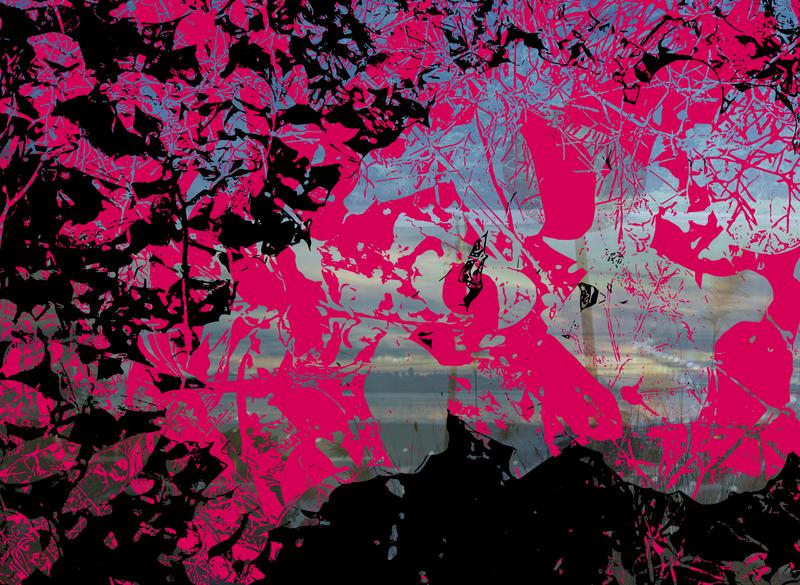 Delusion delusion pink black vector art vector