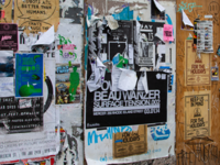 Sticker on Posters