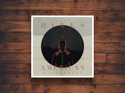 Matt Hires - Alternate Covers album record art digipack cd design packaging astrophotography long exposure american matt hires