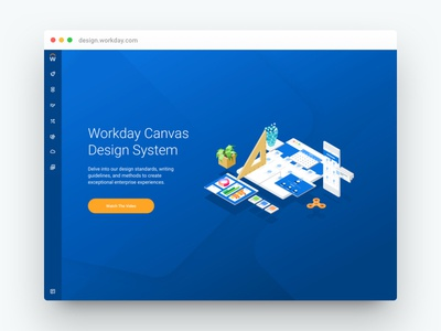 Workday Canvas Design System