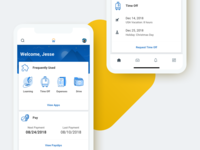 Workday's Native Home Redesign
